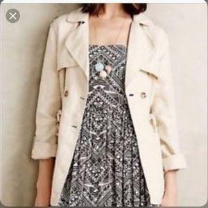 ANTHROPOLOGIE sanctuary linen field jacket